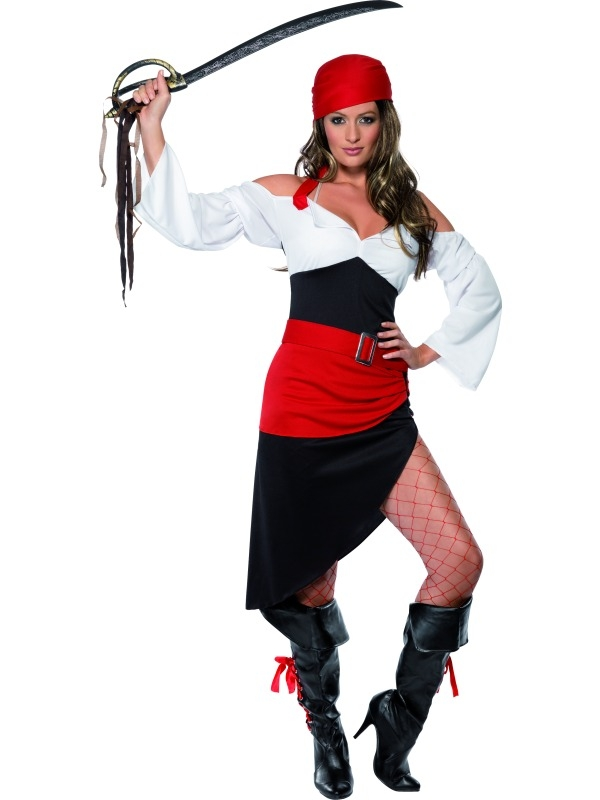 Sassy Pirate Wench costume 33356