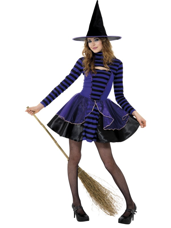 Teen Stripe Dark Fairy Costume ef-21413