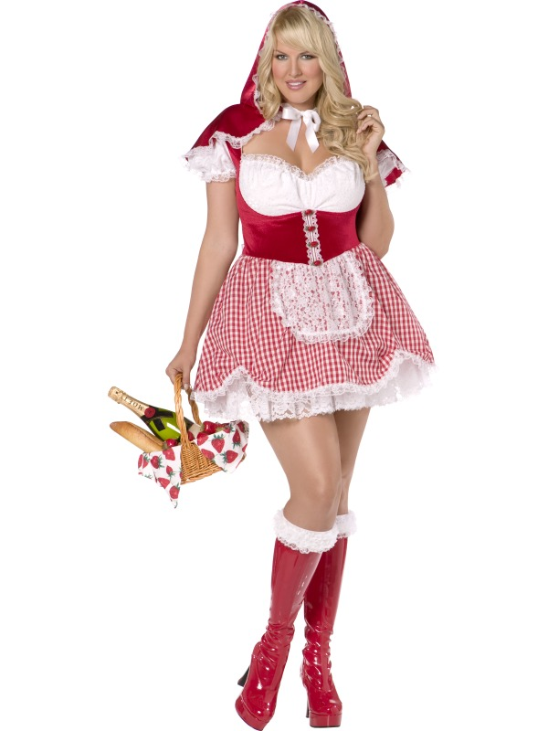 Envy Sexy Red Riding Hood Costume ef-30382 (smiffy