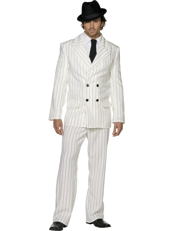 Fever Gangster Costume adult ef-31079M (smiffys)