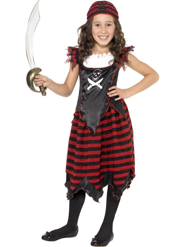 Gothic Pirate Costume ef-32341Large Smiffys