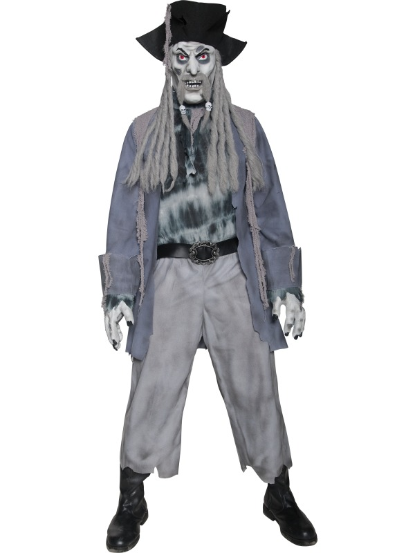 Zombie Ghost Pirate Costume ef-34118L (smiffys)