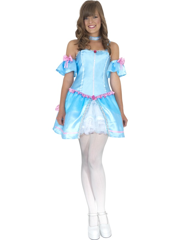 Teen Rebel Toons Cinderella Costume ef-34186T