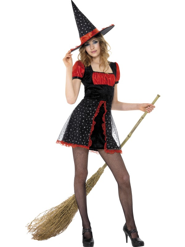Teen Star Witch Costume ef-34659