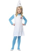 Girl Smurfette Costume, Child ef-34275M