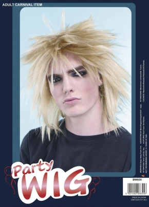 Spike wig blonde BW655
