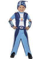 Lazy Town Sportacus Costume ef-38359S ( small 4-6