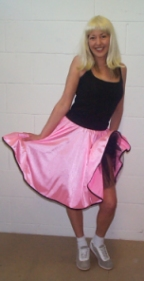 Rock n' Roll skirt DP49 Light candy pink