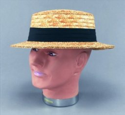Straw boater BH126