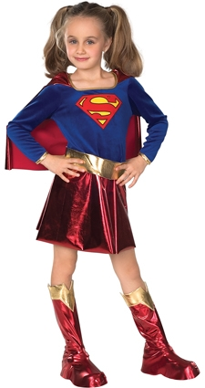 Supergirl costume kids 882314