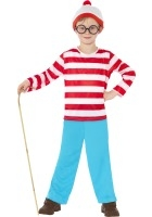 Where's Wally Costume ef-39971L