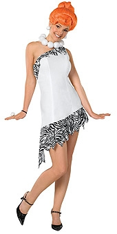 Wilma Flintstone costume adult 888437