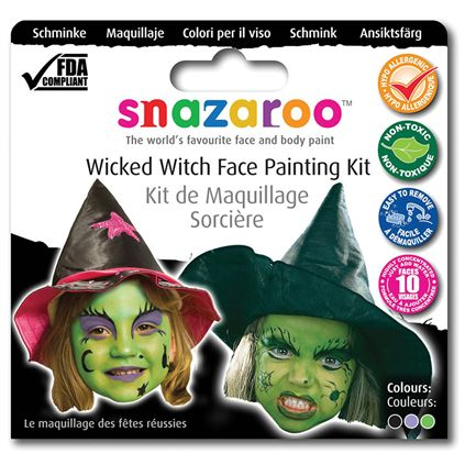 Witch theme pack snazaroo MU104
