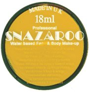 Yellow snazaroo face paint 18ml